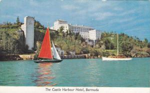 Sail boats,The Castle Harbour Hotel,Bermuda, 40-60s