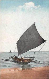 Philippines Manila   Native Outrigger  Boat