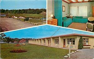Motel Island HO near Gananoque Ontario Canada Chrome
