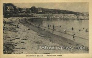 The Front Beach Rockport MA Unused