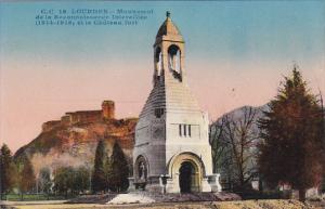 France Lourdes Monument de la Reconnaissance Interalliee