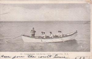 New Jersey Atlantic City United States Life Saving Crew 1908
