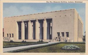 The War Memorial Building, Jackson, Mississippi, PU-1944
