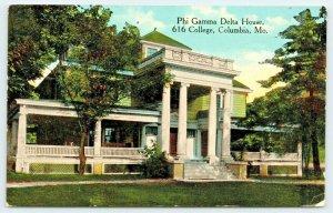 Columbia~University of Missouri~Phi Gamma Delta Fraternity House~1916