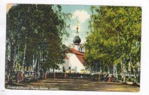 Sunday at LEKSANDS Church, Dalarne, Sweden, 00-10s