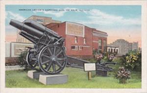 Illinois De Kalb American Legion's Captured Gun
