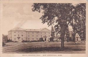 Gould Memorial Hall East Northfield Massachusetts Albertype 1928