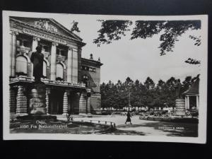 Norway: OSLO Fra Nationalteatret NATIONAL THEATRE - Old RP Postcard
