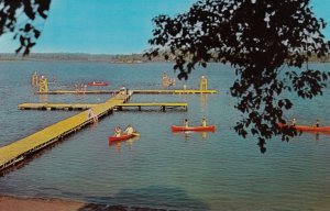 SPRUCEDALE, Ontario, 50-60s; Doe Lake Waterfront, Ontario Council Girl Guides...