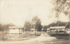 RP: NORTH CLARENOON , Vermont, 1939 ; KO-Z Diner & Cabins