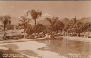 RP: FORTIN, VERACRUZ,  Mexico , 30-40s; Hotel Ruiz Galindo