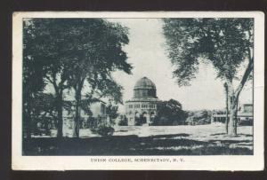 SCHENECTADY NEW YORK UNION COLLEGE VINTAGE POSTCARD 1909 WICHITA KANSAS
