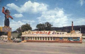 The Chief Dinner, Durango, Colorado, USA Restaurant & Diner Postcard Postcard...