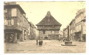 Saint-Céré , Lot valley  , Dordogne. France , 00-10s : La Place du Marche