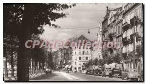 Old Postcard Metz Avenue and La Rue Serpenoise