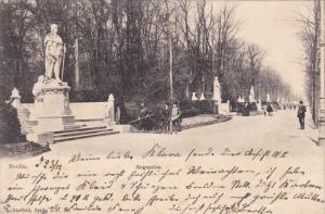 BERLIN, Siegesallee, Germany, PU-1912