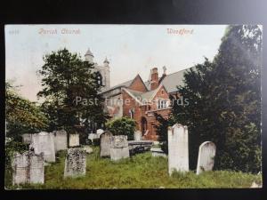 Essex WOODFORD PARISH CHURCH St Mary, South Woodford c1904