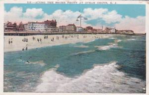 New Jersey Ocean Grove Along The Shore Front 1930