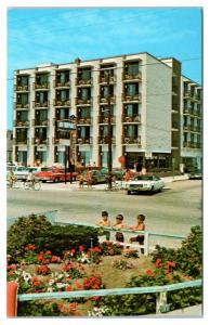 1974 Newport Motel, Wildwood, NJ Postcard
