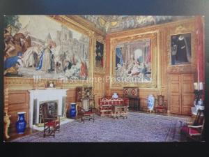 Royalty QUEEN'S AUDIENCE CHAMBE State Apartments WINDSOR CASTLE Set C by R. Tuck