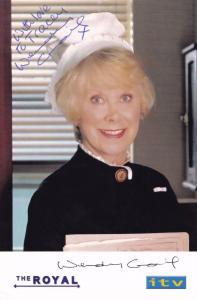 Wendy Craig The Royal Facimile Signed ITV Cast Card Photo