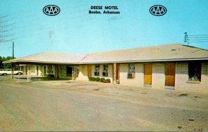 Arkansas Beebe Deese Motel 1966
