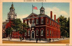 Pennsylvania Philadelphia Congress Hall 1941