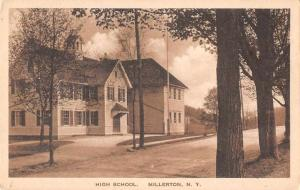Millerton New York High School Antique Postcard J46270