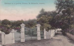 Azores St Michael's Furnas Entrance To A Garden
