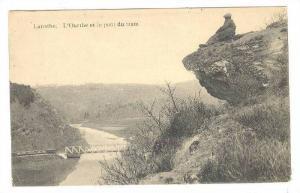 La Roche-en-Ardenne , Belgium , 00-10s ; L'Ourthe et le pont du tram