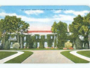 Unused Linen Georgian Court College - Lakewood New Jersey NJ E1688@