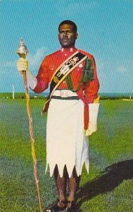 Military Drum Major , Fiji , 40-60s