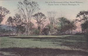 Site Of The Encampment of Capt Samuel Robinson Pioneer Settler of Historic Be...