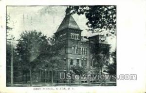 High School Clyde NY 1911