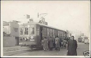 japan, KOBE, Street Car, TRAM (1940s) Real Photo