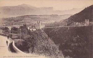 Pont De La Caille Et La Route De Cruseilles, Alpes Maritimes), France, 1900-1...