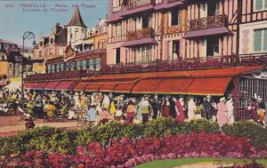 Reine Des Plages, Terrasse Du Flaubert, Trouville (Calvados), France, 1900-1910s