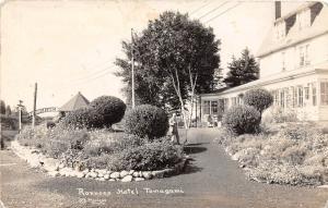 B84/ Tamagami Canada Ontario Real Photo RPPC Postcard Ronnoco Hotel c1920s