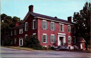 The Mansion Museum Pioneer Memorial State Park Harrodsburg Kentucky Postcard