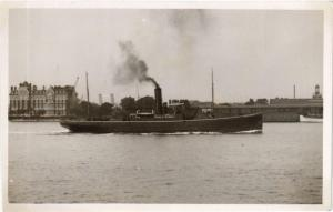 CPA SS GRONINGEN real photo card NETHERLANDS (604077)