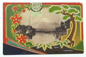 JAPAN  View at Yokohama Early Beautiful Vintage postcard c.1898-1906 A29