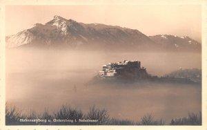 Untersberg I Nebelmeer Hohensalzburg Austria Unused