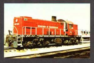 CO Dot Dept Transportation Train Ex US Army PUEBLO PC