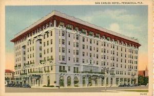San Carlos Hotel Pensacola Florida FL Linen