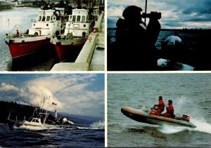 Canada Victoria Multi View Coast Guard Search and Rescue & More