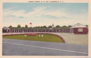 ALLENDALE , South Carolina , 30-40s; Siesta Court, U. S. 301