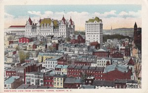 ALBANY, New York, 1900-1910's; Bird's Eye View From Cathedral Tower