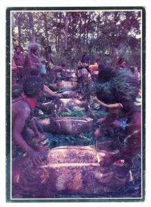 Papua New Guinea, Pureni village pig feast, 1960s