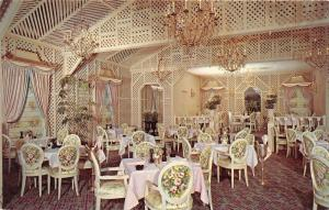 Houston Texas~Brennan's French Restaurant on Smith Street~Fancy Dining Room~'50s
