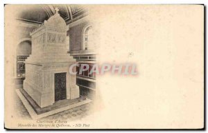 Old Postcard Chartreuse of Auray Mausoleum of Martyrs of Quiberon